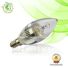 3W E14 LED candle lights lamp bulb ,chandelier accessories ,led lightting