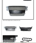 2008-2012 Front Mesh Hood Honeycomb Grill Grille RS Style Fit For Audi A5 RS5 RSA5 A5RS