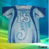 sublimation soccer tops with100%polyester