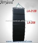 "Dual 8"" pro line array speaker, stage equipment (LA-208/LA212B)"