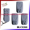 room to room 1 to 3 socket wireless power switch