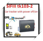 Real-time Car gps tracker with SD slot and motion senser tk103-2(cut off power online/sms)