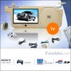 Car Sunvisor monitor DVD Player with SD/USB/Game/ TV/ FM