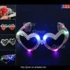 flashing led sunglasses in heart