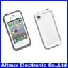 New white Waterproof Case for Apple iPhone 4 4S Water Dirt Proof Cover CP079