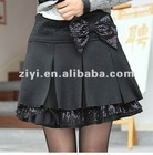 Sequin bow embroidery Barret dress/skirt/bust pleated skirt