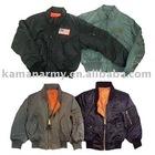 100% nylon waterproof military flight jacket