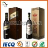 Color printed wine bottle adhesive label