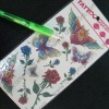 Temporary Tattoo-Flower for Body Decoration (UNIC-TTS075)