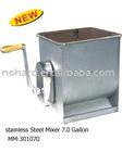 S/S Manual Meat Mixer