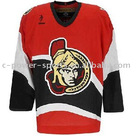 100% polyester brand men's ice hockey jerseys