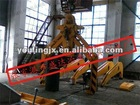 Steel Electro-Hydraulic crane grab of lifting tongs