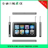 Shenzhen Hot 7INCH GPS and navigation with FM,BT,AV IN,GSM,DVB-T