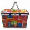 Utility basket with handle and customized size