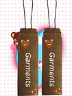 elastic jewelry cord hang tag