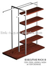 Clothing Display garment shelf stand