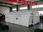 refugee camp tent