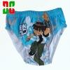 Printed brand cartoon boy briefs underwear