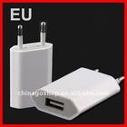 EU plug USB Power Adapter Charger for iphone 4s/5