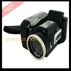 HD Digital Video Camcorder Camera DV with 8X Digital Zoom and Two Interchangeable Lens