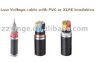 Low Voltage cable with PVC or XLPE insulation