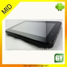 MTK Dual core android 2.3 gps tablet pc phone call function