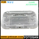 Clear Crystal Case Cover Compatible for Nintendo Wii U
