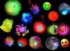 LED Flashing Rubber Balls