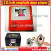 2.8 inch digital door viewer,170 degree view angle