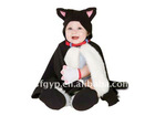 fangle plush toy black cat baby clothes