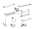 Elegant 10 pcs stainless steel bathroom accessory sets