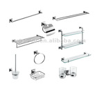 Elegant 10 pcs stainless steel bathroom accessory sets