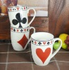 2012 new design ceramic coffee mug