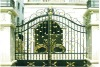 Modern wrought iron gate