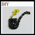 Handmade pipe shape button craft