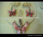 Murano glass jewelry set