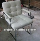 PU arm dining chair ALC-1128