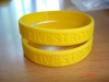Fashion silicone wristband