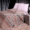 coffee color cotton king comforter set