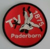 Taekwondo embroidery badge patch