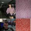 Poly Acrylic hacci jaquard fabric double knitting