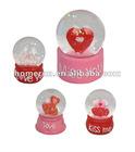 crystal ball with love heart inside FG0006