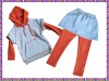 2012 fashion girls cloth sets children wear
