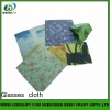 sublimation eyeglass cleaning and nice cloth for wholesale