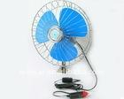 Oscillating car fan