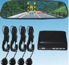 car rearview system&parking sensor system with LED display