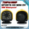 720P HD Waterproof IR Sports DVR camera(EW-DV320)