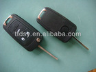 Chevrolet Cruze 3 button replaceable original flip key shell . Chevrolet 3 button key shell .