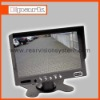 7 inch car rearview LCD monitor in bus, truck,coach