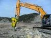 SANHA hydraulic rock breaker customer case in mining site
